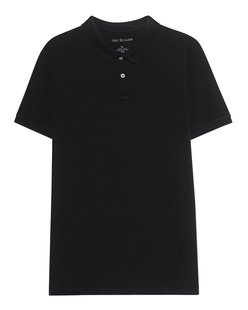 TRUE RELIGION Basic Polo Black