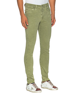 TRUE RELIGION Rocco Gabardine Green