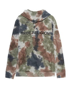 TRUE RELIGION Hood Batik Multicolor