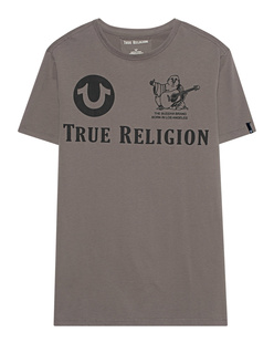 TRUE RELIGION Allover Logo Grey