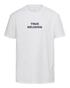 TRUE RELIGION City Logo White