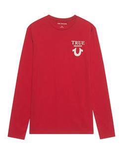 TRUE RELIGION Logo Back Red