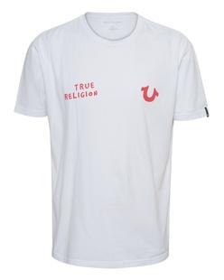 TRUE RELIGION Logo Basic White
