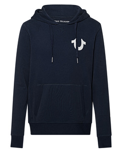 TRUE RELIGION Horseshoe Hood Navy