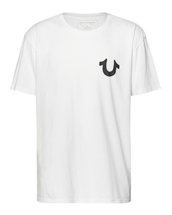 TRUE RELIGION Horseshoe Black White
