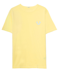 TRUE RELIGION Organic Cotton Logo Yellow