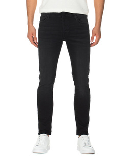 TRUE RELIGION Tony Slim Trueflex Black