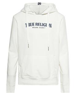 TRUE RELIGION Hood Logo Off White