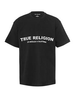 TRUE RELIGION Logo Front Black