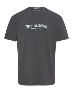 TRUE RELIGION Original Logo Anthracite