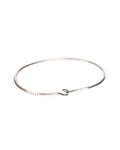 WERKSTATT MÜNCHEN Side Hook Rope Silver