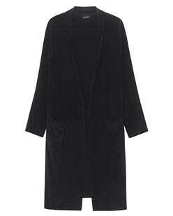 JADICTED Long Coat Black