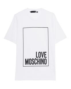 LOVE Moschino Logo Square White