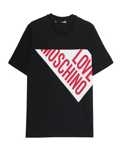 LOVE Moschino Logo Diagonal Black