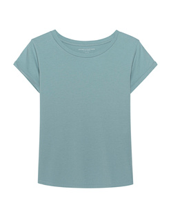 Majestic Filatures  Crew Neck Baby Blue