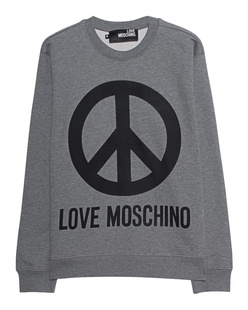 LOVE Moschino Peace Front Grey