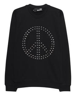 LOVE Moschino Peace Studs Black