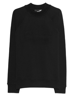 LOVE Moschino Tonal Stitching Black