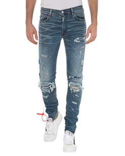 Amiri Super Repair Denim Blue