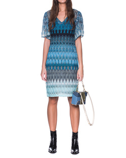 MISSONI Aqua Dress Blue