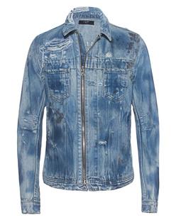 Michael Amiri Jeans Bleach Used Blue