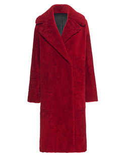 NOVE Lamb Fur Red Black