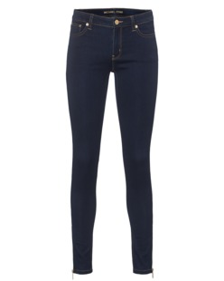 MICHAEL Michael KORS Ankle Zip Jegging Twighlight Blue