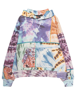 Amiri Oversized Tie Dye Patchwork Multicolor