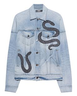 Amiri Glitter Snake Blue