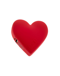 Moji Power Powerbank Heart Red