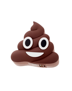 Moji Power Powerbank Poo Brown