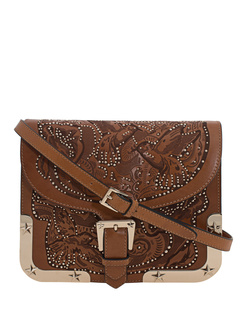 RED VALENTINO Birds And Stars Brown