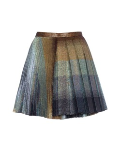 MARCO DE VINCENZO Stripe Lurex Double Pleat Multi