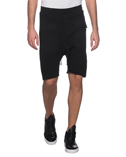 THOM KROM Pockets Short Black Oil