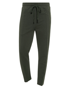 THOM KROM Cropped Seam Dark Green