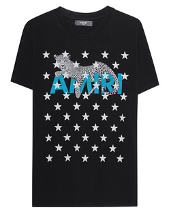 Amiri Leopard Star Black