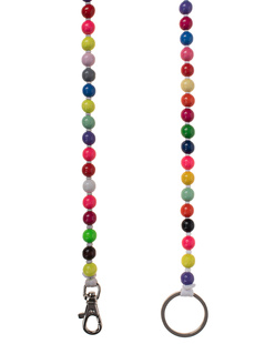 INA SEIFART Wooden Pearls Multicolor