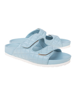 PAO PIANO ZERO Quilted Sandals Celeste Light Blue