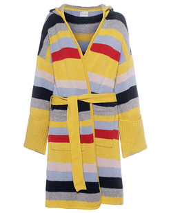 FINE EDGE Knit Jacket Multicolor