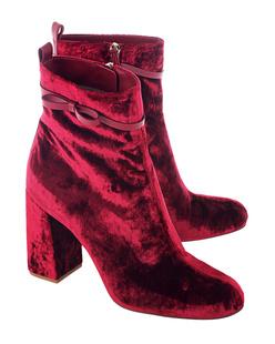 RED VALENTINO Velvet Bow Lacca