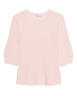 RED VALENTINO Peplum Rose