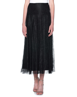 RED VALENTINO Long Lace Nero