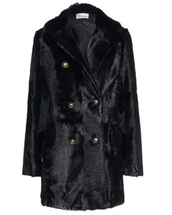 RED VALENTINO Furry Nero