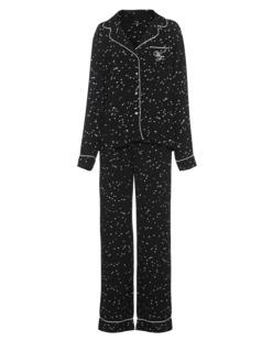 WILDFOX Classic Pyjama Wild Hearts Black