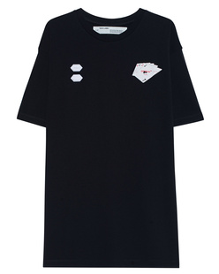 OFF-WHITE C/O VIRGIL ABLOH Hand Card Shirt Black