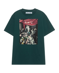 OFF-WHITE C/O VIRGIL ABLOH Caravag Painting Green