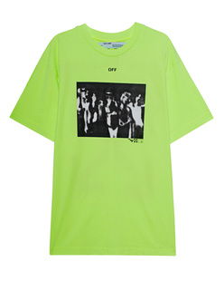 OFF-WHITE C/O VIRGIL ABLOH Spray Painting Neon Yellow