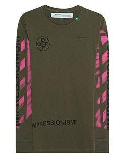OFF-WHITE C/O VIRGIL ABLOH Diag Stencil Arrows Olive