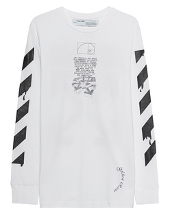 OFF-WHITE C/O VIRGIL ABLOH Dripping Arrows Long White