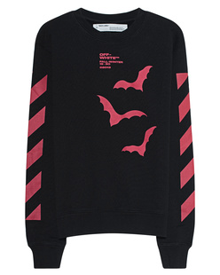 OFF-WHITE C/O VIRGIL ABLOH Sweater Diag Bats Black